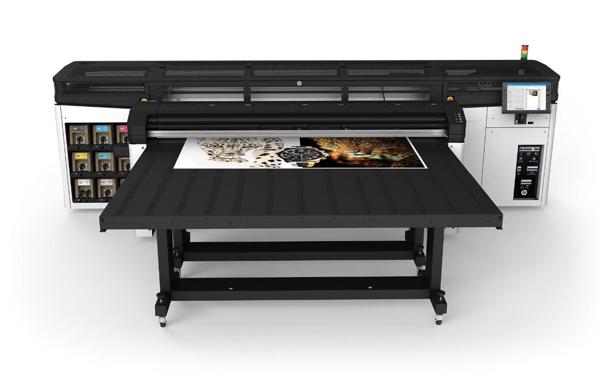 hp latex r2000 plus rigid printer 98 inches wide format production