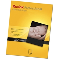 "KODAK PROFESSIONAL Inkjet Photo Paper, Lustre Finish 8.5""x11"" 50 Sheets"