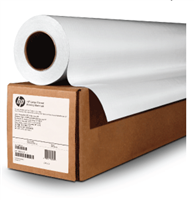 "HP Bright White Inkjet Paper 23.4""x500' 90gsm Roll 2"" Core"