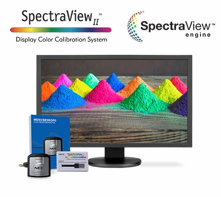 NEC 27in Color Critical SpectraView Color Calibration Display Monitor