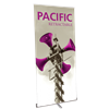 "Orbus Pacific 1000 Retractable Banner Stand - Silver - 39.25"" x 83.75"""