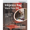 "Inkpress Rag Warm Tone 200gsm 2-Sided 11"" x 17"" - 25 Sheets"