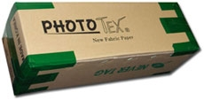 "PHOTO-TEX Removable Aqueous Adhesive Fabric 17""x100' 240gsm Roll - Over 55% off!!!"