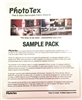 "PHOTO-TEX Sample Pack 10 Sheets of 8.5""x11"""