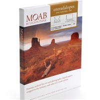"Moab by Legion Entrada Natural White 190gsm (Scored, Matte, 7 x 10"", 25 Sheets)"