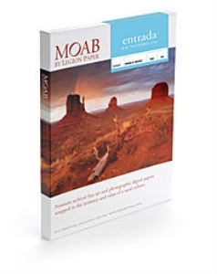 Moab Entrada Rag Textured 300gsm 17in x 22in 25 Sheets