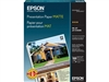 EPSON Presentation Paper Matte 4.9mil, 8.5  x 14in - 100 sheets