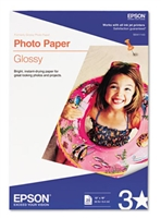 "Epson Photo Paper Glossy, 13"" x 19"" - 20 sheets"