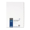 "EPSON Proofing Paper White Semimatte 13""x19"" 100 Sheets"