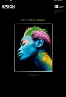 EPSON Hot Press Bright 17mil 8.5in x 11in - 25 Sheets