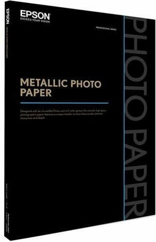 "Epson Metallic Photo Paper Glossy 8.5""x11"" - 25 Sheets"