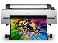 Epson SureColor P10000 Production Inkjet Photo Printer gallery quality wide format inkjet prints up to 44 inches wide.