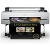 Epson SureColor P10000 Production Inkjet Photo Printer gallery quality wide format inkjet prints up to 44 inches wide DEMO