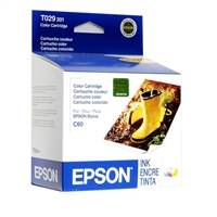 Epson T029 Color Ink Cartridge for Stylus C60 - T029201
