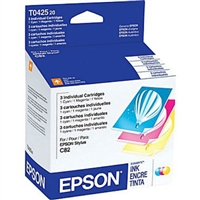 Epson Color Mulit-Pack for Epson Stylus C82, CX5200, and CX5400 Printers - T042520