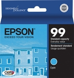 Epson 99 Claria Cyan Ink for Artisan 700, 710, 725, 730, 800, 810, 825, 835, 837- T099220