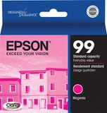 Epson 99 Claria Ink Magenta for Artisan 700, 710, 730, 725, 800, 810, 835, 837 Printers- T099320