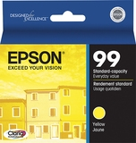 Epson 99 Claria Ink Yellow for Artisan 700, 710, 725, 730, 800, 810, 835, 837 Printers - T099420