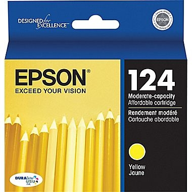 Epson DuraBrite Ultra Ink Yellow for Stylus NX430 - T124420