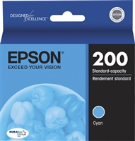 Epson XP DURABrite Cyan Ink Cartridge - T200220