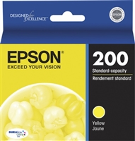 Epson 200 DURABrite Yellow Ink Cartridge - T200420