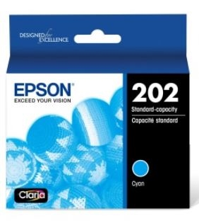 Epson T202 Cyan Standard Ink Cartridge for WorkForce 2860