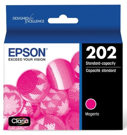 Epson T202 Magenta Standard Ink Cartridge for WorkForce 2860
