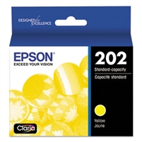 Epson T202 Yellow Standard Ink Cartridge for WorkForce 2860