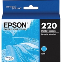 Epson Workforce WF-2630 Standard Capacity Cyan 220 - T220220