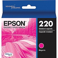 Epson 220 Standard Capacity Magenta Ink Cartridge - T220320