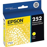 Epson 252 DURABrite Ultra Yellow Ink Cartridge - T252420