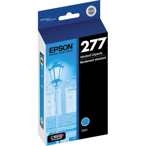 EPSON (277) Claria Photo HD Cyan Ink Cartridge For Expression Photo XP-850, XP-950 - T277220