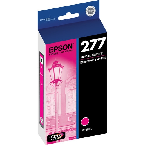 EPSON (277) Claria Photo HD Magenta Ink Cartridge For Expression Photo XP-850, XP-950 - T277320