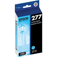 EPSON (277) Claria Photo HD Lt. Cyan Ink Cartridge For Expression Photo XP-850, XP-950 - T277520