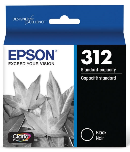 Epson 312 Claria Photo HD Black Ink for XP-15000