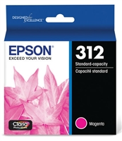 Epson 312 Claria Photo HD Magenta Ink for XP-15000