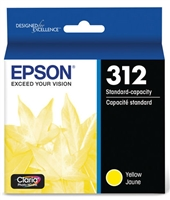 Epson 312 Claria Photo HD Yellow Ink for XP-15000