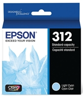 Epson 312 Claria Photo HD Light Cyan Ink for XP-15000