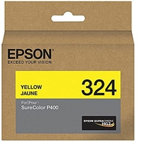 Epson 324 Yellow Ink Cartridge for SureColor P400 printers