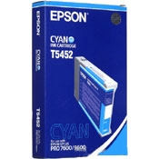 Epson Photo Dye Ink Cyan 110ml for Epson Stylus Pro 7600, 9600 - T545200