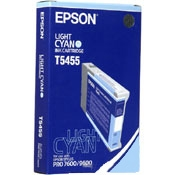 Epson T545 Photo Dye Ink Light Cyan 110ml for Epson Stylus Pro 7600, 9600 - T545500