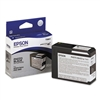 Epson T580 UltraChrome K3 Photo Black Ink 80ml for Stylus Pro 3800, 3880