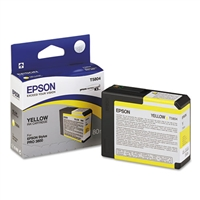 Epson T580 UltraChrome K3 Yellow 80ml for Stylus Pro 3800, 3880