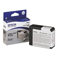 Epson T580 UltraChrome K3 Light Light Black Ink 80ml for Stylus Pro 3800, 3880