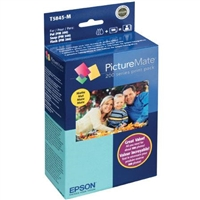 Epson T5845-M PictureMate 200 Series Print Pack Ink & Paper - Glossy - T5845M