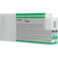 Epson UltraChrome HDR Ink Green 350ml for Stylus Pro 7900, 7900CTP, WT7900, 9900 - T596B00