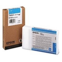 Epson UltraChrome K3 Ink Cyan 110ml for Stylus Pro 7800, 7880, 9800, 9880 - T602200