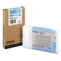 Epson T602 UltraChrome K3 Ink Light Cyan 110ml for Stylus Pro 7800, 7880, 9800, 9880 - T602500