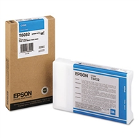 Epson UltraChrome K3 Ink Cyan 220ml for Stylus Pro 7800, 7880, 9800, 9880 - T603200
