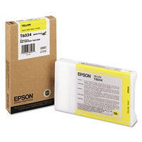 Epson UltraChrome K3 Ink Yellow 220ml for Stylus Pro 7800, 7880, 9800, 9880 - T603400